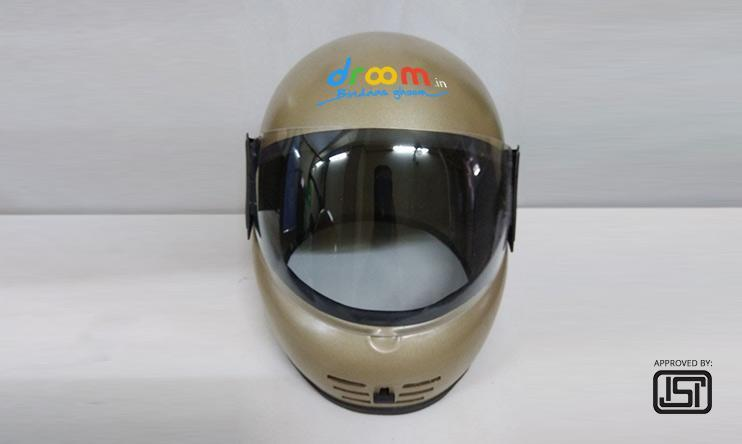 Rs.99 for New Branded ISI Helmet MRP of Rs.950 on Droom