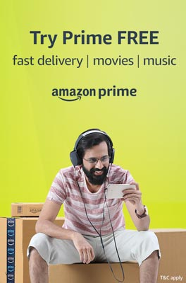 Try amazon prime free with your credit and debit card.