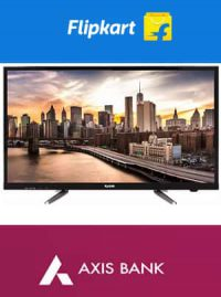 Flat 10% off on Your Televisions and Home Appliances on Axis Cards