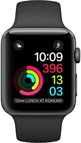 Coolmobiz Apple iPhone 6S 128GB Compatible Bluetooth Smartwatch with TF Sim Card Support Calling Function Camera Touchscreen for all smartphones