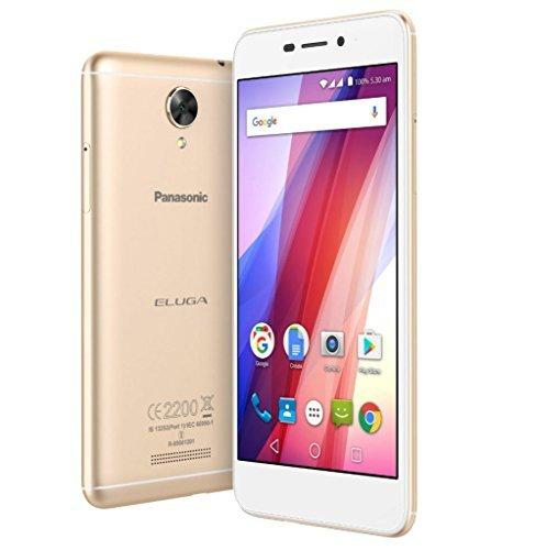 Panasonic Eluga Pulse X EB-90S55EPXN (Gold, 16GB)