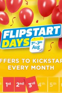 Flipkart's Flipstart Days started tonight