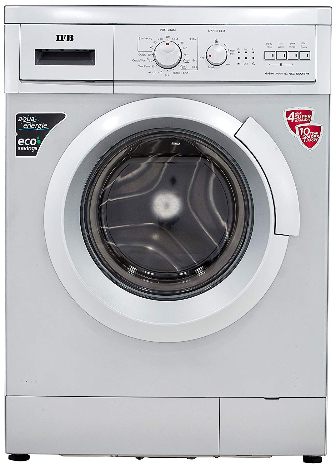 IFB 6 kg Washing Machine (Elena Aqua SX LDT) | compareye.com