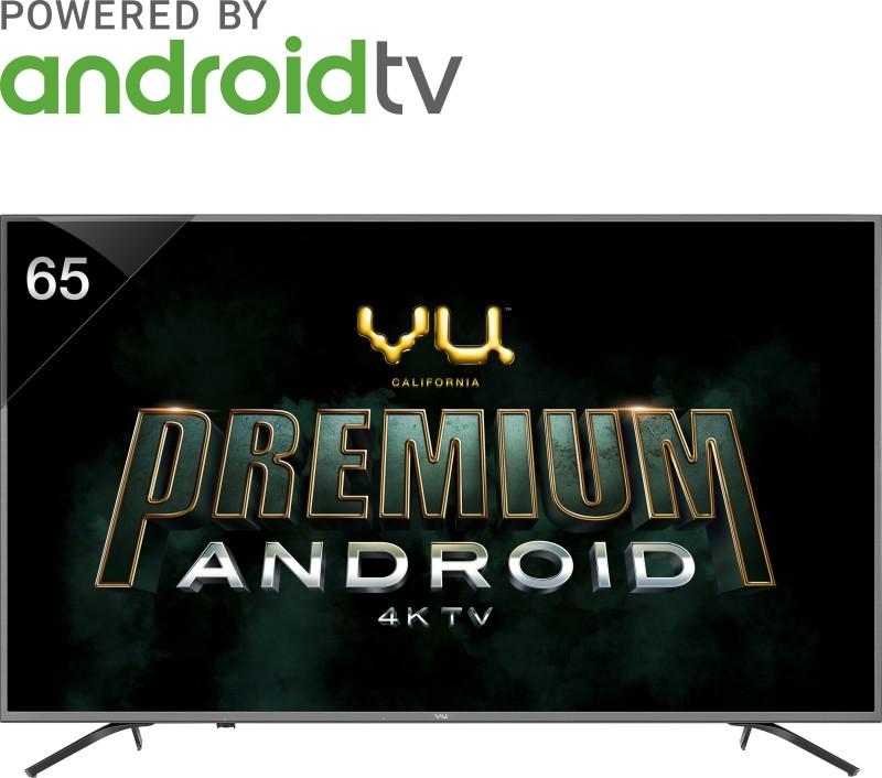 Vu Premium Android 163cm 65 inch Ultra HD 4K LED Smart TV 65-OA